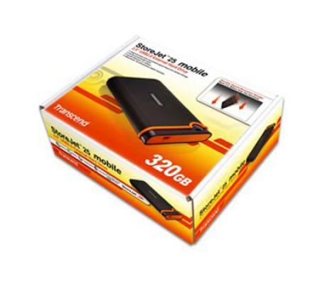 Transcend StoreJet Mobile 320GB (TS320GSJ25M)