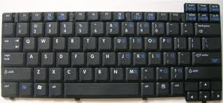 Key HP NX6105, NX6115, NX6120, NX6130, NC6110, NC6120, NC6130