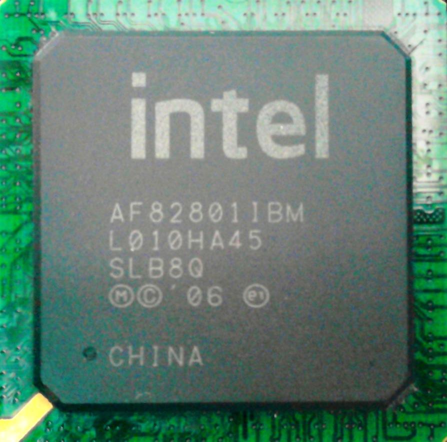 Intel AF 82801 IBM