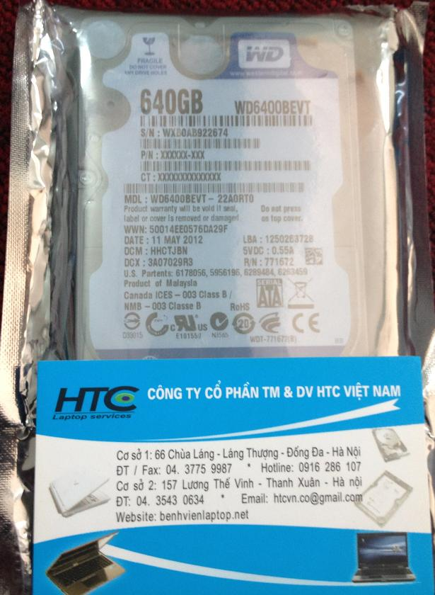 640GB - 5400rpm - 8MB cache - SATA - 2.5inch