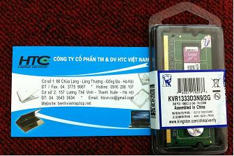 2GB - DDR3 - PC 8500 - Bus 1333 Mhz
