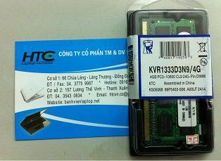 4GB - DDR3 - Bus1333Mhz