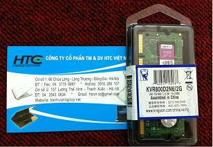 2GB - DDR2 - Bus 800 Mhz