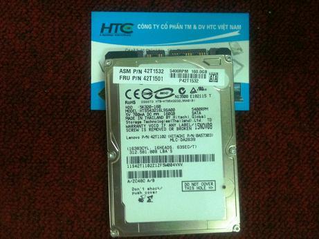 HDD 160GB Hitachi dòng tháo máy