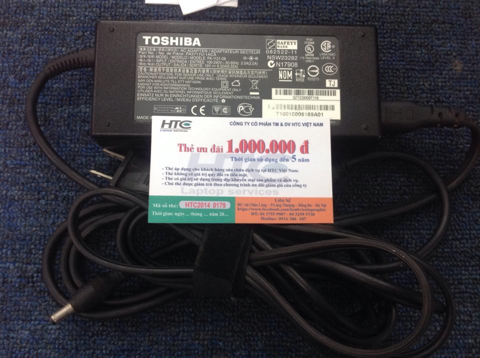 sạc pin toshiba 19V-6,32A