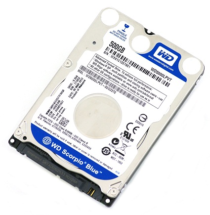 ổ cứng WD 500GB 2.5 inch SATA